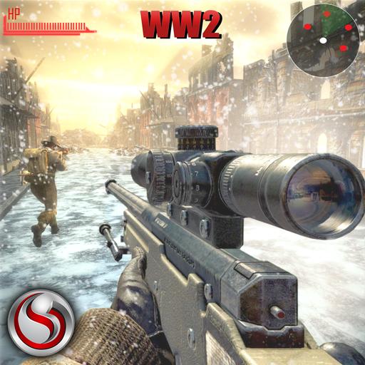 Llamado a la guerra: campo de batalla WW2 de francotiradores