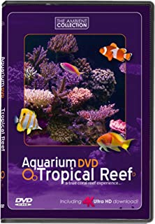 AQUARIUM DVD | TROPICAL REEF with 4K ULTRA HD Download in Natural Sound and Relaxing Music