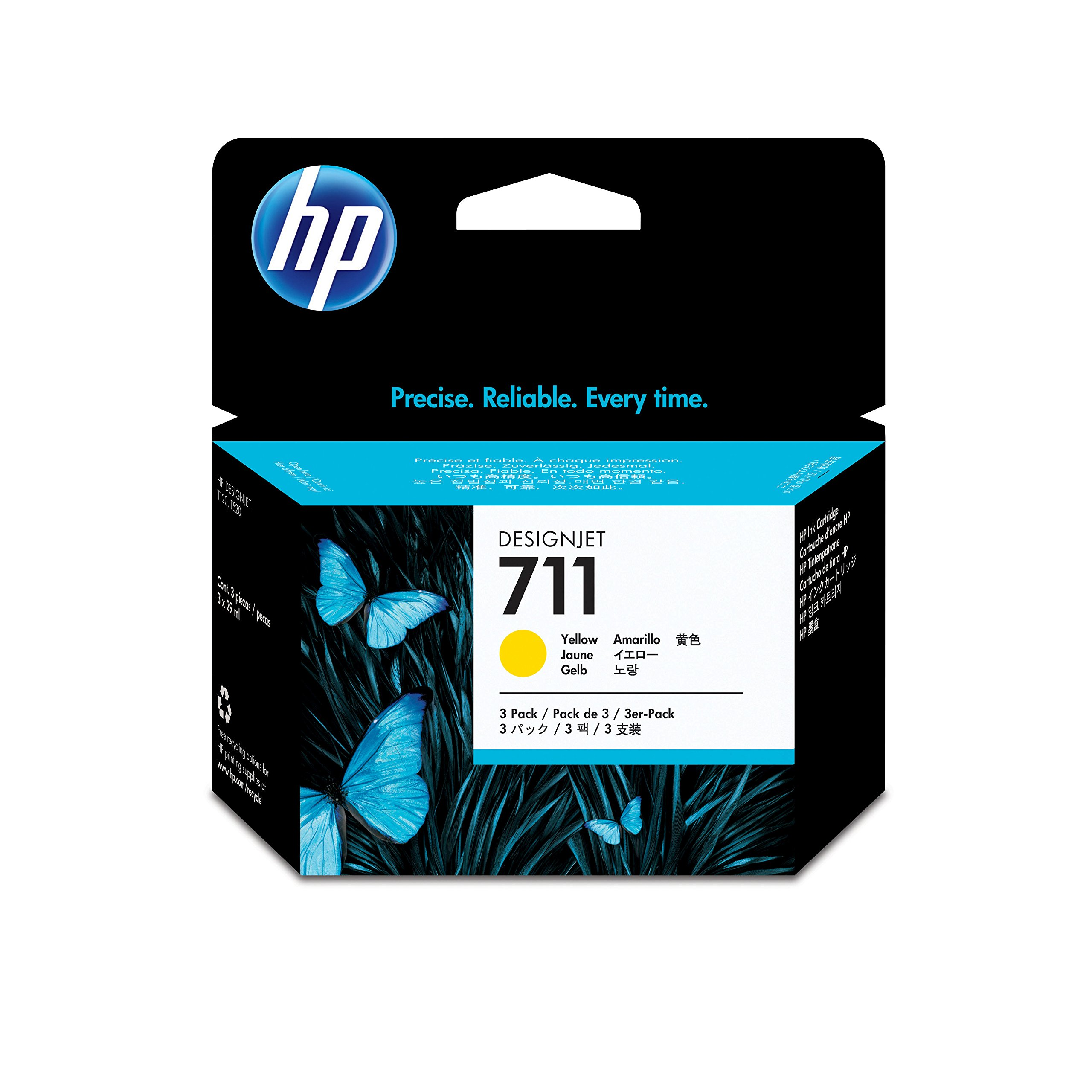 HP CZ136A - Pack de 3 cartuchos de tinta: Amazon.es: Oficina y ...