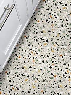 AMAZING WALL Self Adhesive Terrazzo Floor Pattern Sticker 15.7x78.7 1PCS/Set