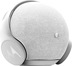 Motorola Lifestyle Sphere+, Altavoz Estéreo Bluetooth y Juego de Auriculares, Bluetooth/AUX, Blanco/Plata