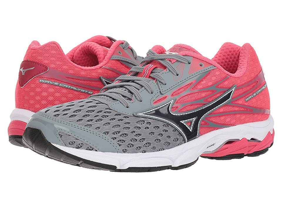 Mizuno Wave Catalyst 2 (Monument/Magnet) Girls Shoes
