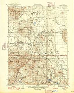 YellowMaps Bartle CA topo map, 1:125000 Scale, 30 X 30 Minute, Historical, 1939, Updated 1947, 20.8 x 16.6 in