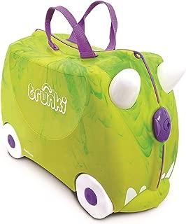 Trunki Children's Ride-On Suitcase & Hand Luggage: Trunkisaurus Rex (Green)