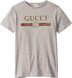 Web Print T-Shirt 503628X3L02 (Little Kids/Big Kids)