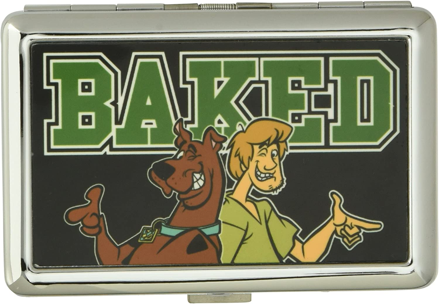 Buckle-Down unisex adult Buckle-down Business Card Holder - Scooby Doo Wallet, Scooby Doo10, 4.0 x 2.9 US