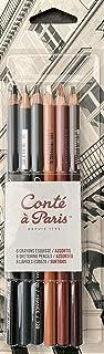 Conté à Paris Sketching Pencil - Assorted Colours (Pack of 6)