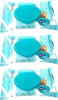 Charmin Flushable Wipes, 40 Count (Pack of 3)