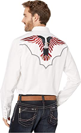 28598f9b1ccf Rock and Roll Cowboy. Long Sleeve Print Snap B2S9106. $59.50. 2633 USA  Eagle. Roper
