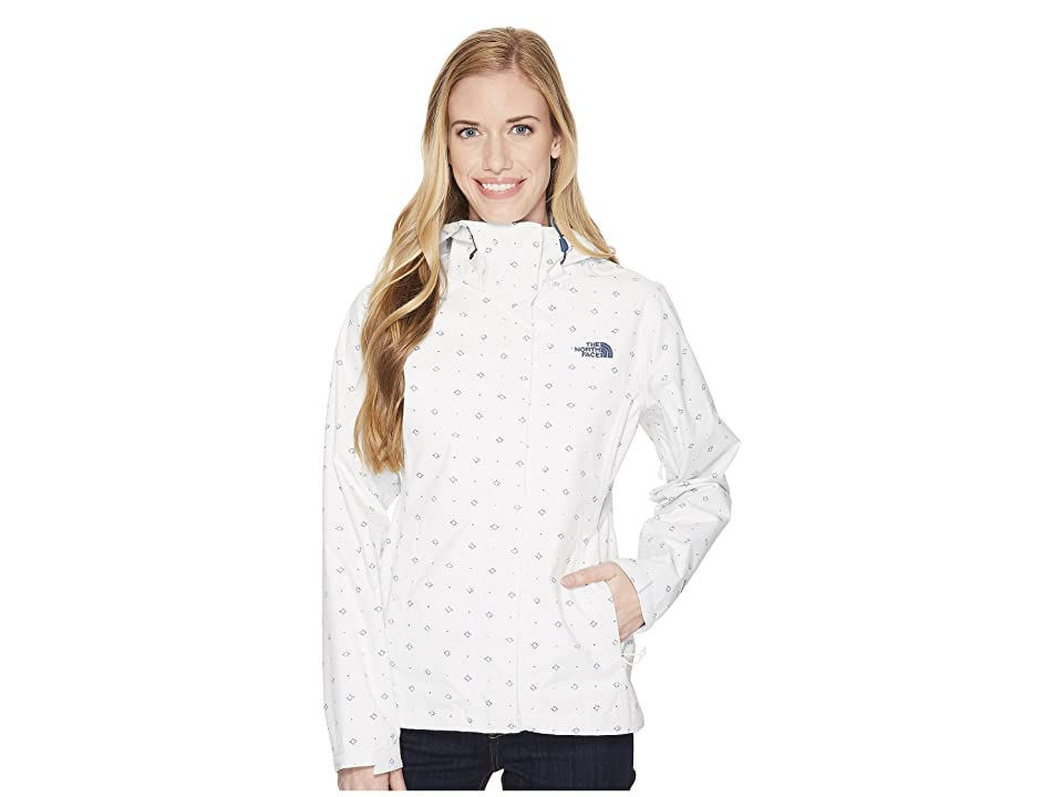 The North Face Print Venture Jacket (TNF White Airy Bandana Print) Women
