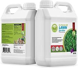 Eco Garden PRO Liquid Lawn Aerator - Liquid Conditioner   Treatment   Loosener   Improves Lawn Aeration & Drainage   Alternative to Manual Lawn Aerators - 1 Quart