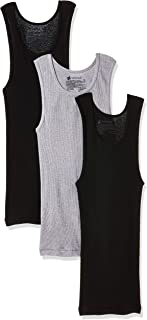 Hanes Boy'S Tank Top Tank Top, Color: White (Assorted), Size: L