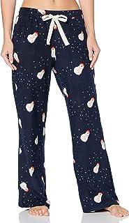 Iris & Lilly Pantalón Pijama de Forro Polar Mujer