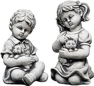 Engel Junge Bub Baby Skulptur Deko Figur 13cm Geschenkidee