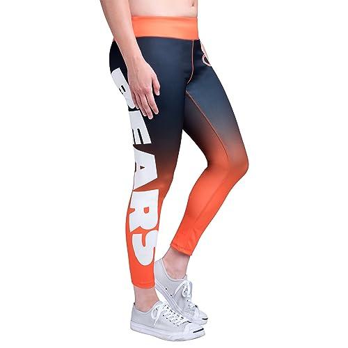 b4e7ed6908a99 Forever Collectibles NFL Women's Gradient 2.0 Wordmark Legging, Team  Variation