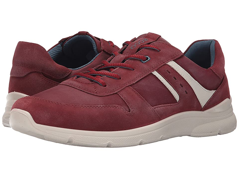 ECCO Irondale Retro Sneaker (Port/Black) Men