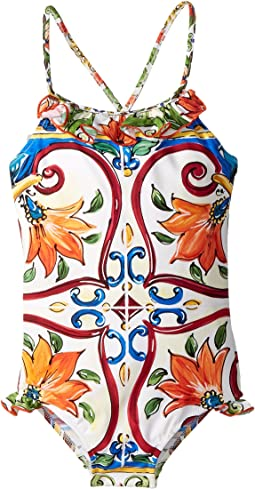 Dolce & Gabbana Kids - Swimsuit One-Piece (Toddler/Little Kids)