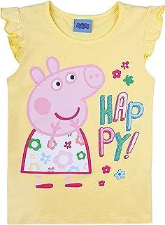 Peppa Pig, niñas Top, Amarillo