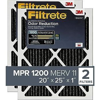 Nordic Pure 18x25x1 MERV 14 Pleated AC Furnace Air Filters 18x25x1M14-2 2 Piece