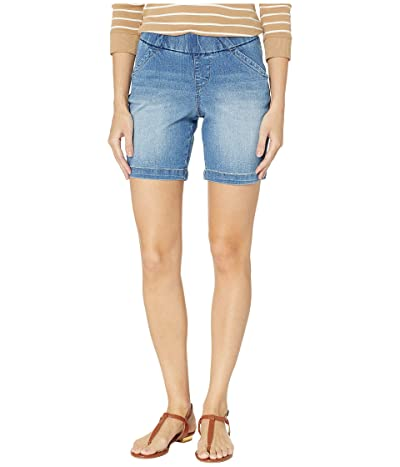 Jag Jeans 8 Gracie Pull-On Shorts in Denim (Horizon Blue) Women