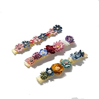Baby Girl Flowers Headbands Newborn Photography Props Nylon Floral Crown Hair Bow Elastic Bands Infant Toddlers Kids