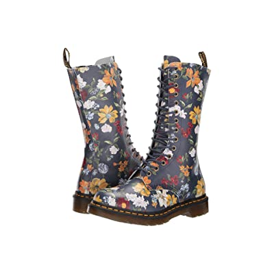 Dr. Martens 1B99 Darcy Floral (DMS Navy Darcy Floral Backhand Straw Grain) Women
