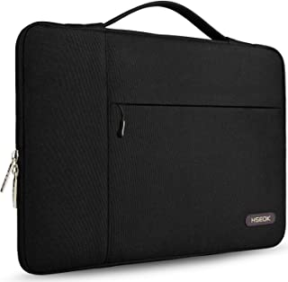 HSEOK Laptop Sleeve 13-13 3 Inch Case Briefcase  Compatible All Model 13  MacBook Air Pro  XPS 13  Surface Book Spill-Resistant Handbag and Most 13 -13 3  Notebook  Black