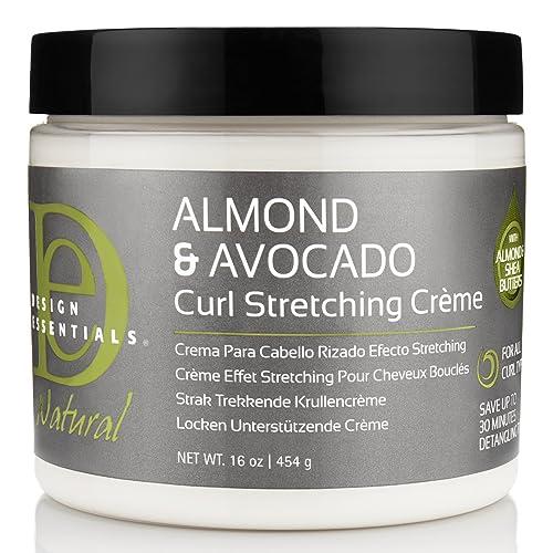 Design Essentials Natural Almond & Avocado Curl Stretching Cream For All Curl Types - 16 Oz