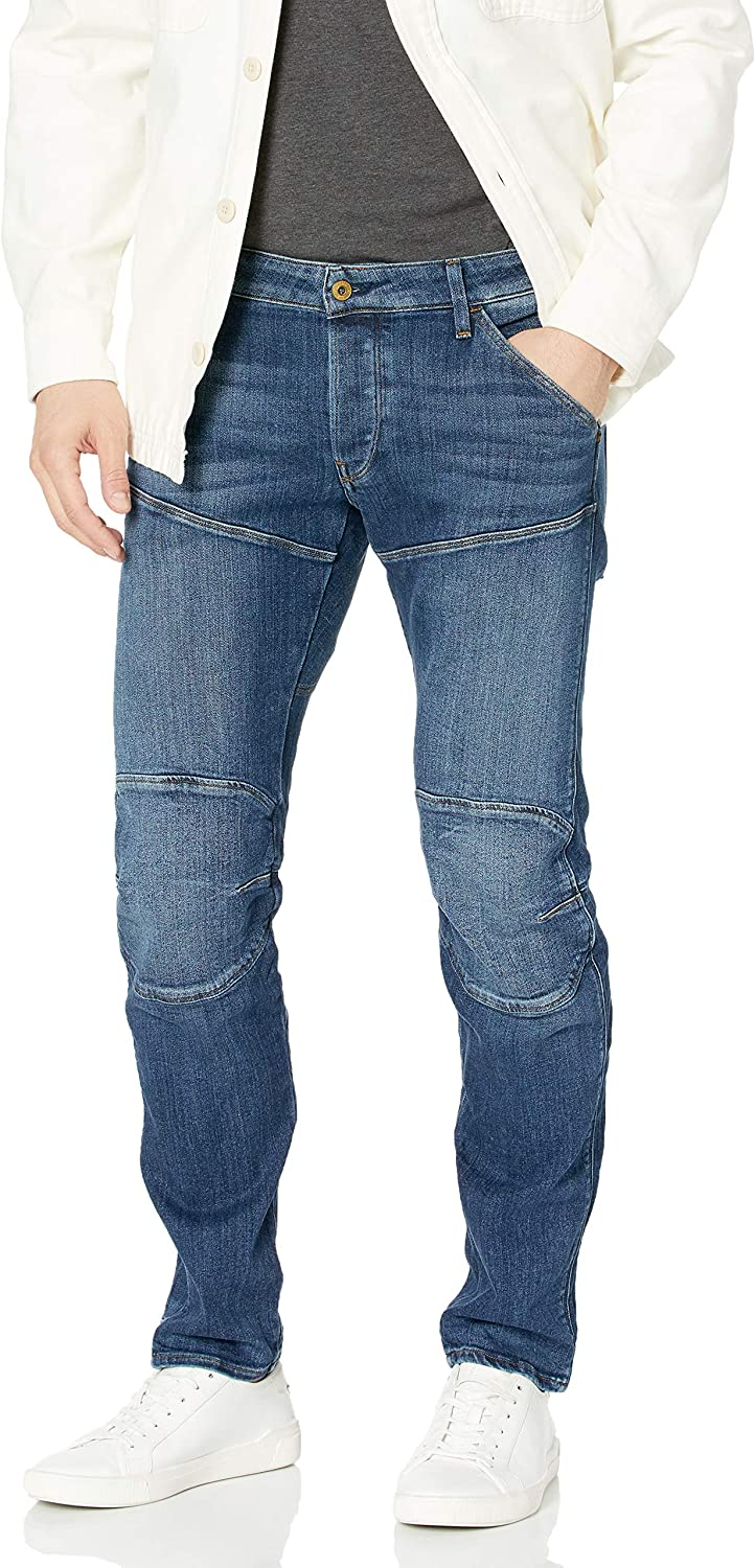 G-Star Raw Men's 5620 Deconstructed Tapered Low 3D half Cerro Stretch Max 84% OFF