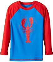 Hatley Kids - Lobster Rashguard (Toddler/Little Kids/Big Kids)