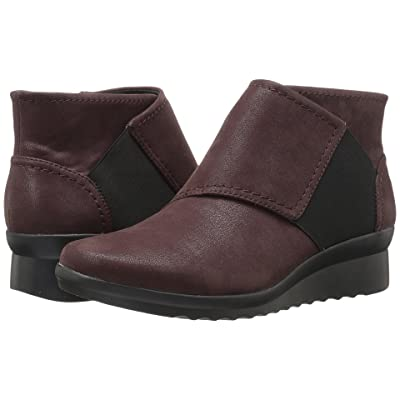 Clarks Caddell Rush (Burgundy) Women