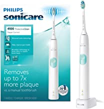 Philips Sonicare ProtectiveClean 4100 Rechargeable Electric Toothbrush, White HX6817/01