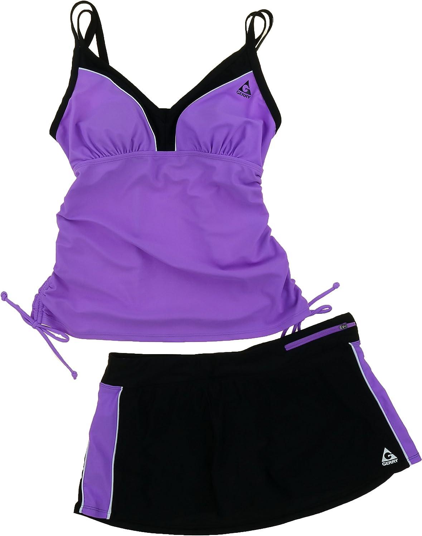 Gerry 2 Piece Tankini Swimsuit Set for Women  Top & Short