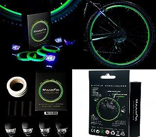 glow in the dark rims bike