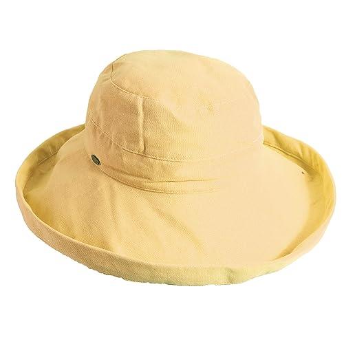 Scala Womens Medium Brim Cotton Hat