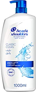 Head & Shoulders Classic Clean Anti-Dandruff Shampoo for a Deep, Clean Feeling and Healthy-Looking Hair, 1000ML