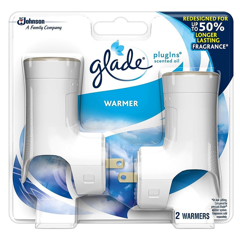 柔らかさいちゃつくセミナー【glade/グレード】 プラグインオイル ウォーマー本体 (2個入り) Glade Plugins Scented Oil Warmer (2 Warmers) [並行輸入品]
