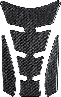 /HIGHTECH AVEC Structure visible/ /universel de protection de r/éservoir pour moto de R/éservoirs Tankpad Film 3D 501470/Carbon Noir/