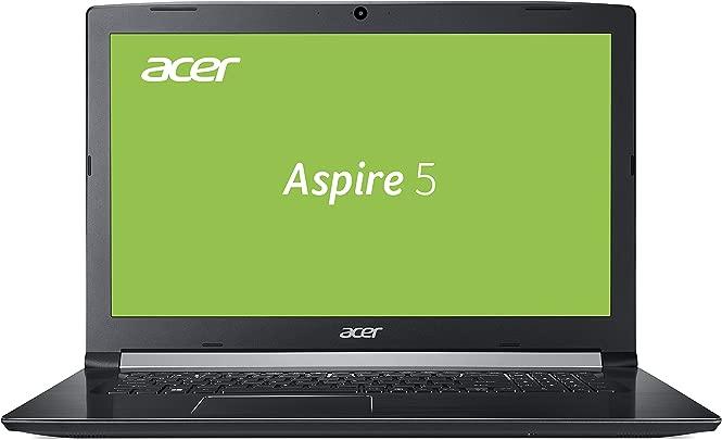 Acer Aspire  A517-51G-54ED  43 9 cm  17 3 Zoll Full-HD IPS matt  Multimedia Laptop  Intel Core i5-8250U  8GB RAM  128GB SSD  1 000GB HDD  NVIDIA GeForce MX130  Win 10  schwarz