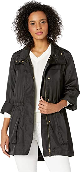 Fake Memory Shell Roll Up Sleeve Jacket