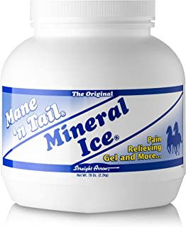 Straight Arrow Mane N Tail Mineral Ice for Muscular and Joint Ache for Horse, 5-Pound