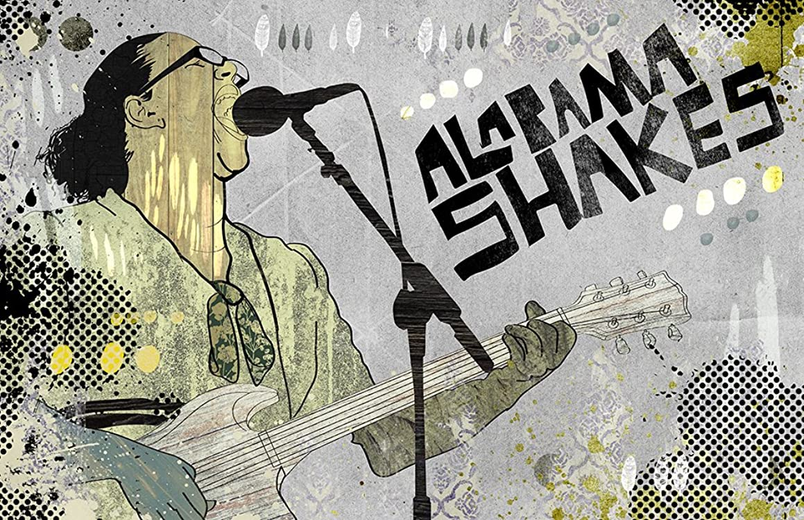 ALABAMA SHAKES POSTER/Pop Art/Wall Art/Limited Edition of 100 / Indie Rock/Southern Rock/Brittnay Howard