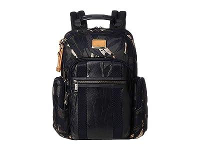 Tumi Alpha Bravo Nellis Backpack (Grey Highlands Print) Backpack Bags