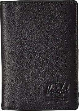 Herschel Supply Co. - Raynor Passport Holder Leather RFID