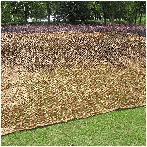 Filet de camouflage Filet de camouflage Filet de camouflage en tissu Oxford utilisé pour le camping caché chasse tente de camouflage camouflage parasol photographie parcravate party HalFaibleeen décoration d