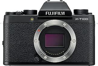 Fujifilm X-T100 Mirrorless Digital Camera, Black (Body Only)