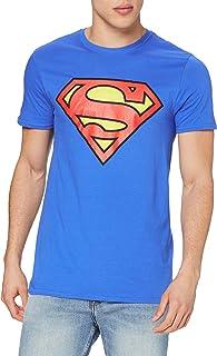 DC Comics Men's Superman Logo T-Shirt