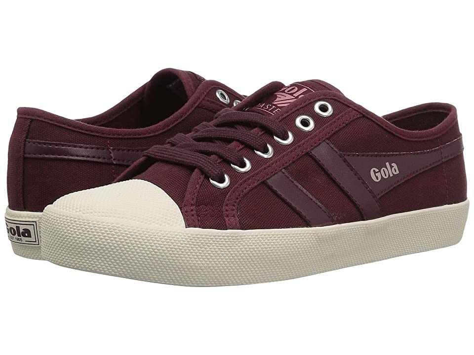 Gola Coaster (Windsor Wine/Off-White) Women