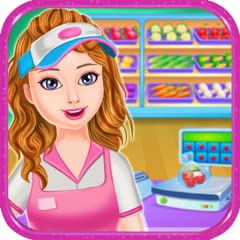 Educational shopping game for girls / kids Fun and easy to play Beautiful graphics and child-friendly UI Attractive animations and sound effects Many different mini games to play