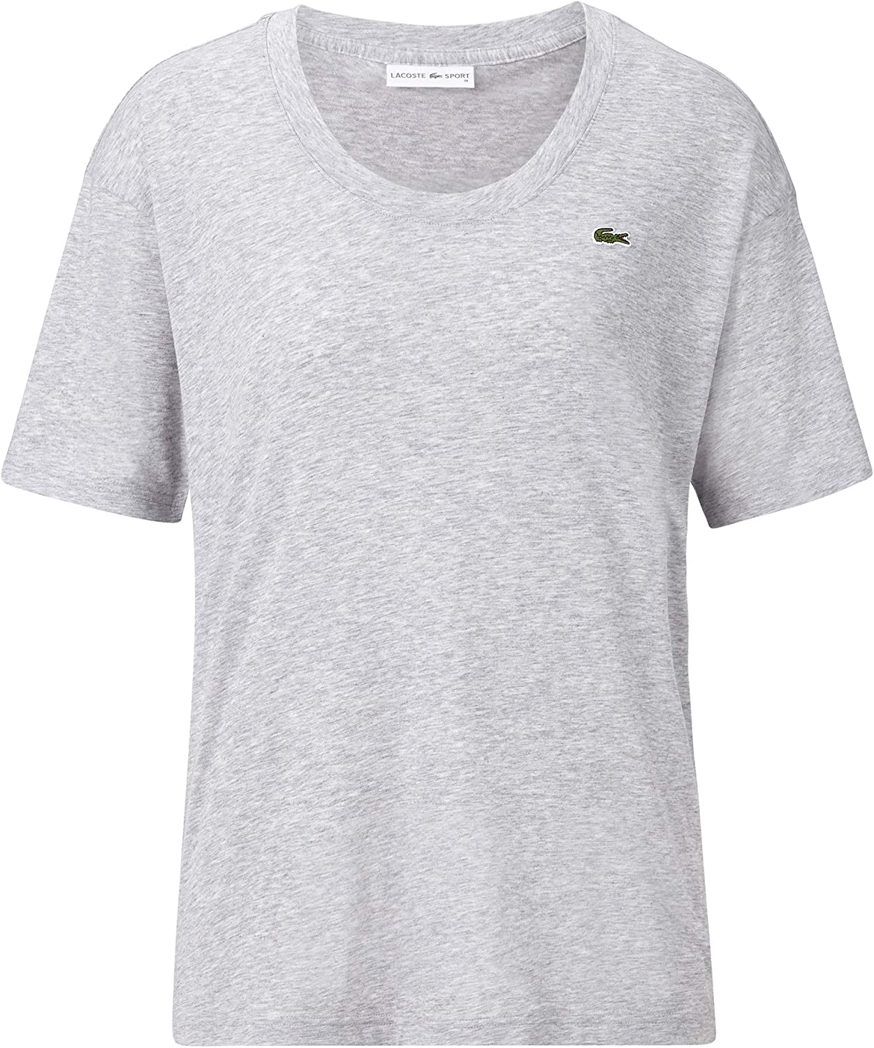 Lacoste TF3407 Women T-Shirt Round Neck,Ladies Basic Tshirt,Tee,Regular Fit